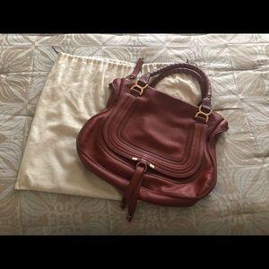 Chloe Large Marcie Satchel Handbag